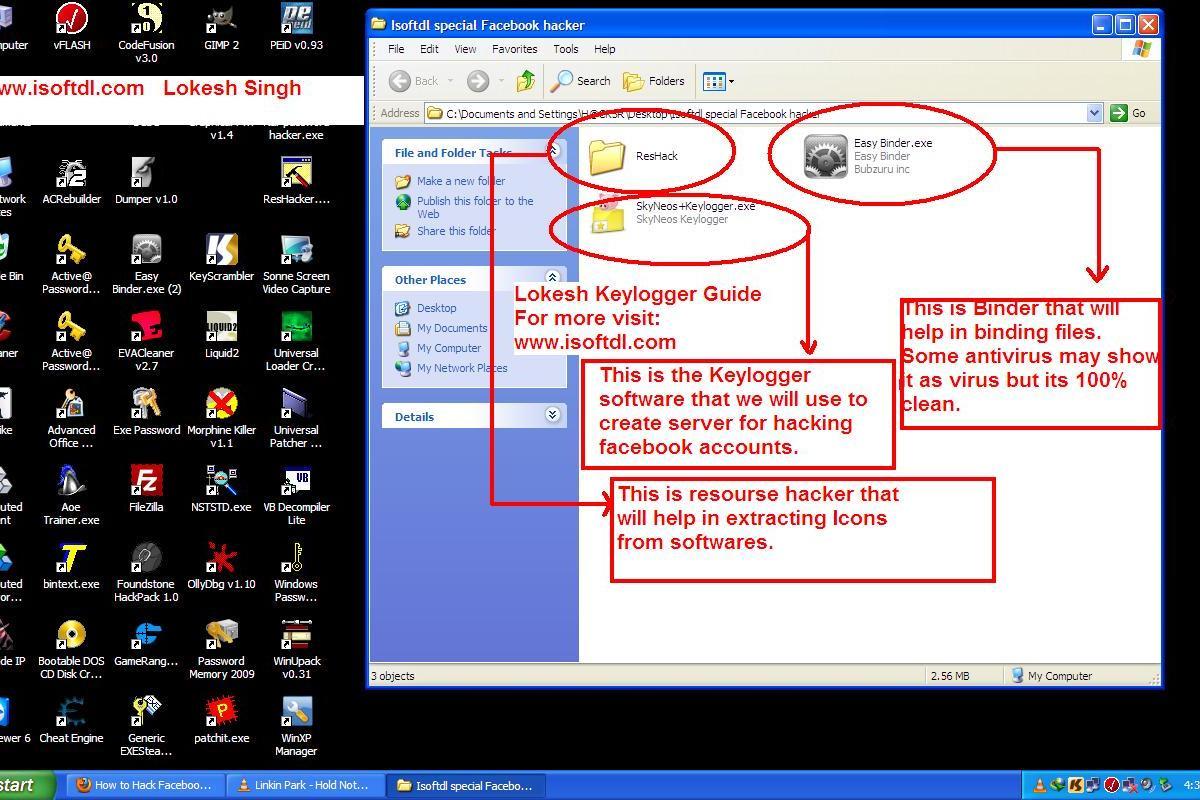 Keylogger for facebook password hack download